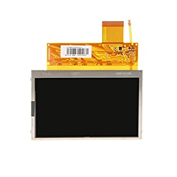 Prettyia LCD Screen Backlight Display Replacement for PSP 1000 4.13 * 4.45