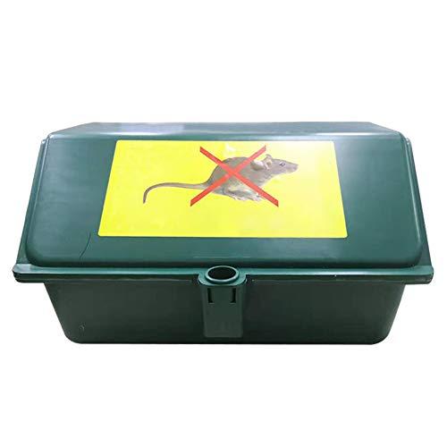 Nicejoy Los Ratones Caja Trampa De Control Ratones Estación De Cebo Cebo Rectángulos Rata Fuerza Trampas para Trabajo Pesado Al Aire Libre Profesional De Interior Al Aire Libre Ratones