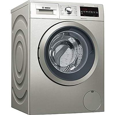Bosch WAT2840SGB Serie 6 9kg 1400rpm Freestanding Washing Machine - Silver