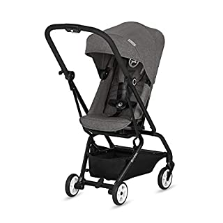 CYBEX Gold - Silla de Paseo Eezy S Twist, Asiento Giratorio 360°, Ultracompacta, desde el Nacimiento hasta 17 kg (aprox. 4 años), Manhattan Grey (B07CKY6JW8) | Amazon price tracker / tracking, Amazon price history charts, Amazon price watches, Amazon price drop alerts