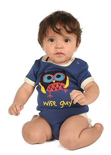 LazyOne Garçon Wise Guy Body Bebe Vest 18 Months