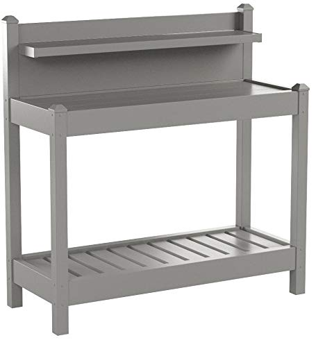 Dura-Trel 11203M Greenfield Potting Bench, Mocha