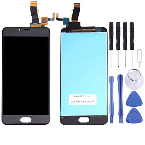La selección de Cici Pantalla LCD y digitalizador Asamblea Completa for Meizu M5 / Meilan 5 (Negro) (Color : Black)
