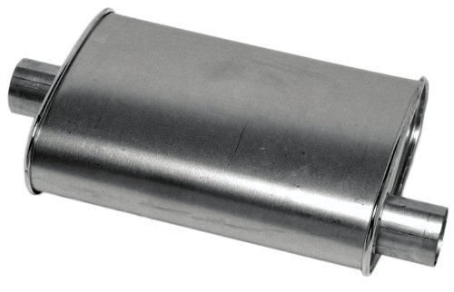 Thrush 17713 Turbo Muffler, Inlet & Outlet Diameter - 2.25""