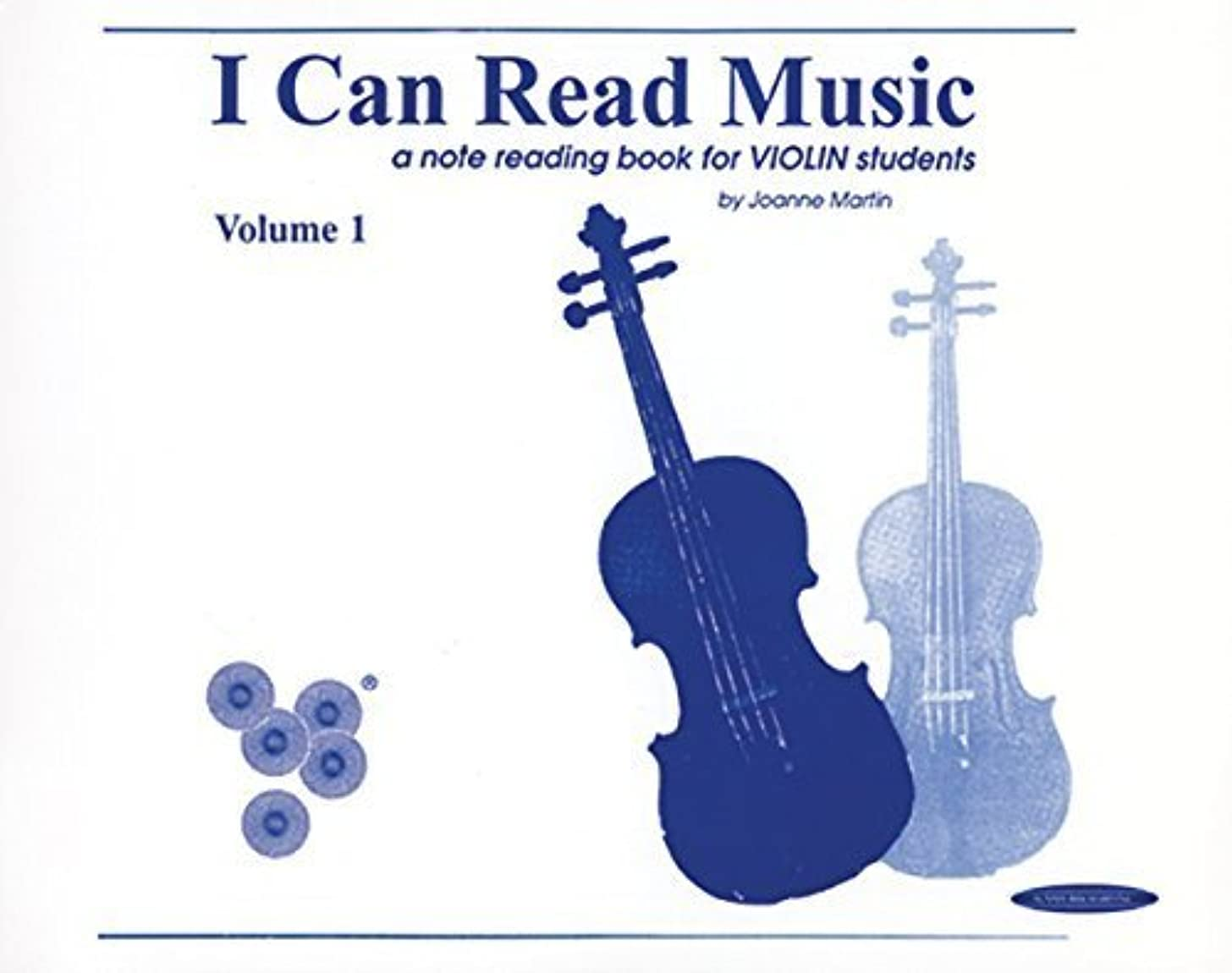 I Can Read Music: A Note Reading Book for Violin Students (Volume 1) by Martin, Joanne (1995) Spiral-bound