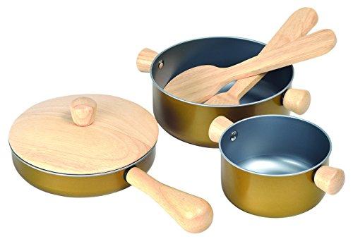 ASA Toys- Cacharritos, Utensilios de Cocina de Juguete, 2+ (PT3413)