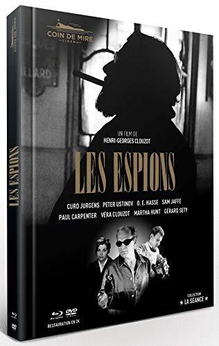 Les Espions [Edition Prestige Limitée Numérotée blu-ray + dvd + livret + photos + affiche]