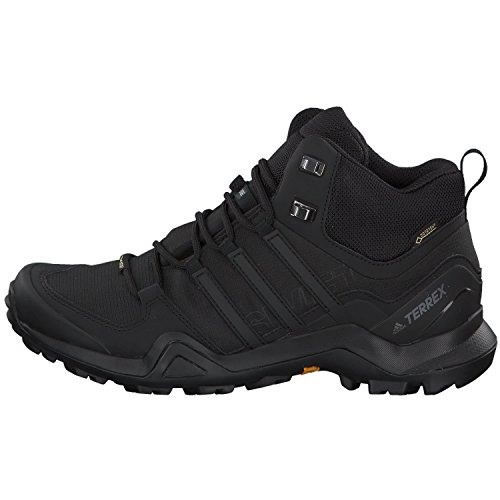 Adidas Terrex Swift R2 Mid, Zapatillas de Marcha Nórdica Hombre, Negro (Core Black/Core Black/Core Black 0), 42 EU
