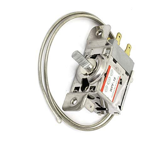 Aexit AC 220V 5A 3 Pin Temperaturregler Kühlschrank Thermostat WPF-18 (c76fef9734be5714adc886143f34aaee)