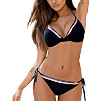 para Woman Secret Bikinis Rebajas Playa Adolescentes sprinfield Rayas Transparente Bikini Push up Bikinis Mesh Leia Xinan cyell Verano Sexy bikiny Mujer Estampado Bebe Natacion calcedo