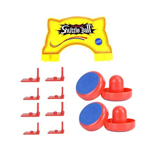 LIOOBO Elektrisches Federfußball-Set, lustiges universelles Air-Spielzeug, Ball mit Eiskissen, Hockey-Set für Teenager und Kinder