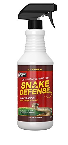 Snake Defense Natural Snake Repellent - Effective and Safe Spray 32oz| For All Types of Snakes| non venomous and venomous
