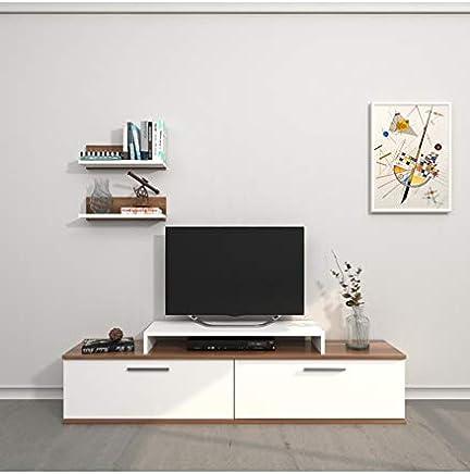 Amazon.it: Mobili Porta Tv Bianchi - Mobiletti / Soggiorno: Casa e ...