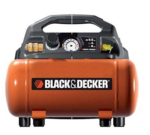 Black + Decker Kompressor mit 6 L Tank ölfrei