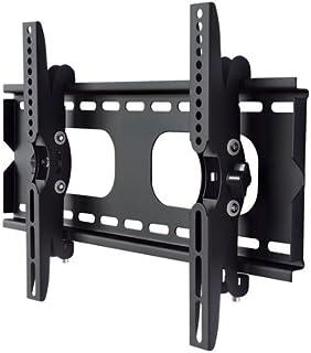 エース・オブ・パーツ テレビ壁掛け金具 26-49インチ対応 上下角度調節 ブラック PLB-117SB 【中型テレビ壁掛け】
