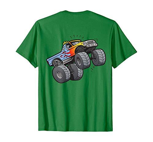 Gift T-Shirt Monster Truck Wheelie Mono