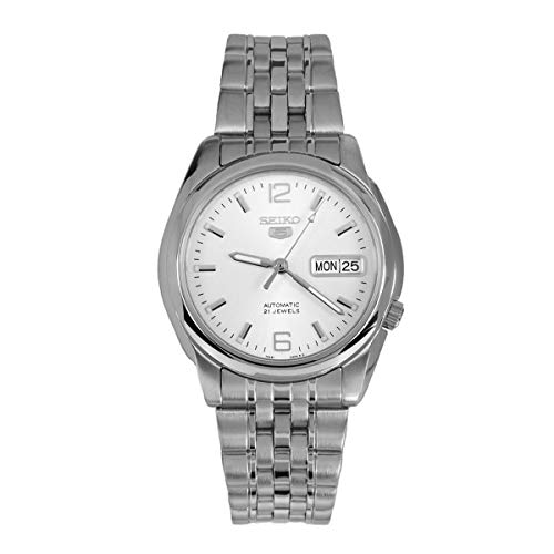 Seiko Series 5 Automatic White Dial Men's Watch...