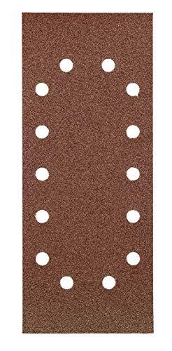 KWB 49818708 Pack Tiras abrasivas 80k 115 x 280 mm, 115x280mm, Set de 10 Piezas