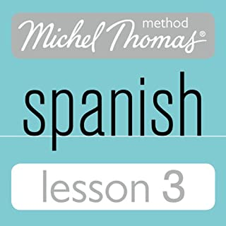Michel Thomas Beginner Spanish, Lesson 3 cover art
