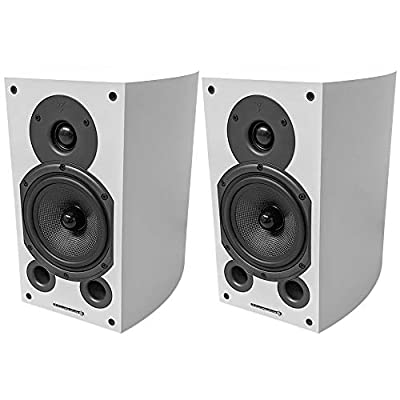 Wharfedale Diamond 9.1 Speakers (Pair) (White) by Wharfdale