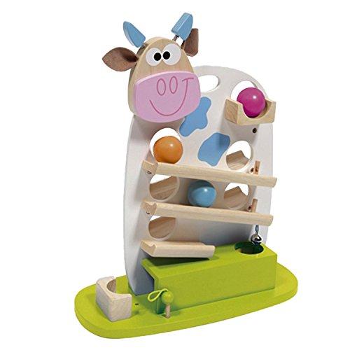 Scratch - 276181003 - Circuit de billes - Vache Marie - avec 3 billes