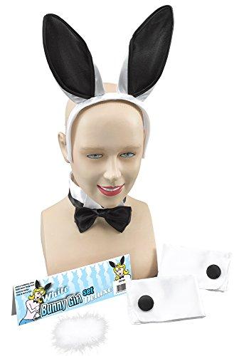 Bristol Novelty Novelty-DS104 DS104 Kit d'Accessoires de Lapin pour Femme, Noir, Taille Unique