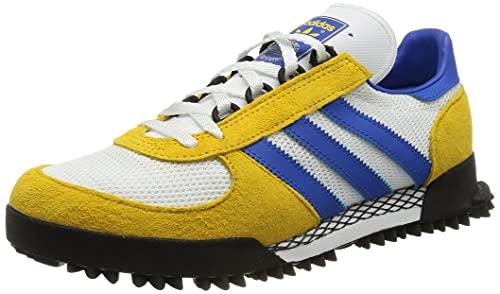 adidas Marathon TR, Zapatillas Deportivas Hombre, FTWR White Bold Gold Blue, 44 EU