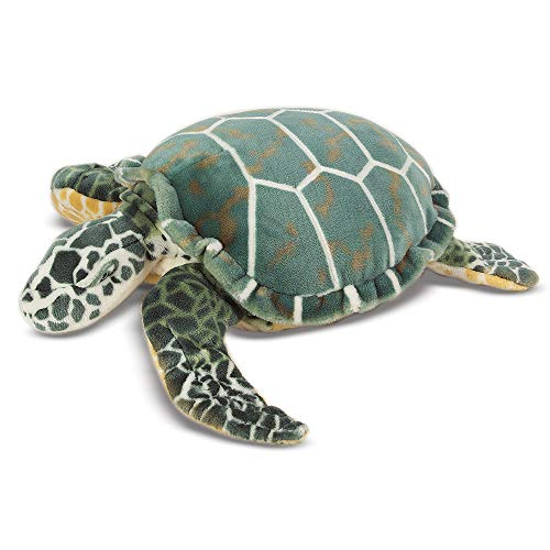 Melissa & Doug Giant Sea Turtle - Lifelike Stuffed Animal (nearly 3 feet long)