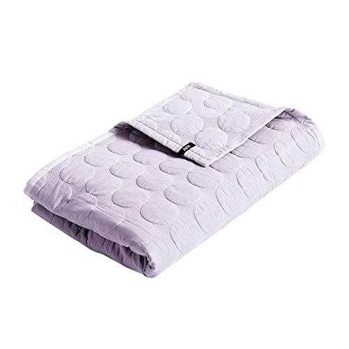 Mega Dot Decke 155x245cm, lavendel Baumwolle Füllung Polyester LxB 245x155cm