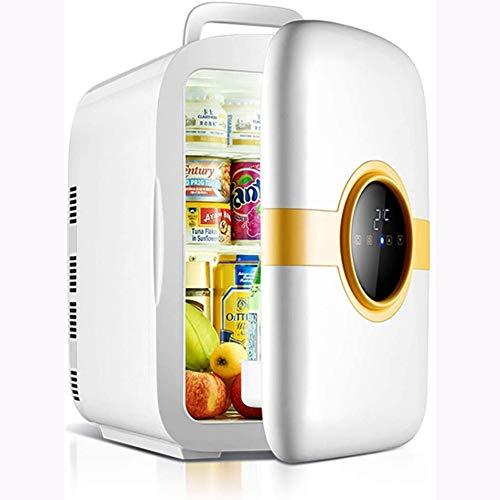Rindasr Mini-koelkast, 22 liter, grote capaciteit stroom, koelkast, koeling en warmte, digitaal display, tafelkoelkast, buitenkant kleine koelkast voor huishoudelijk gebruik