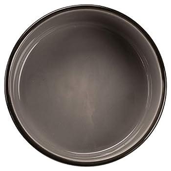 Trixie 24532 Bol en céramique avec pattes, 0,8 l/ø 16 cm, Marron/Taupe