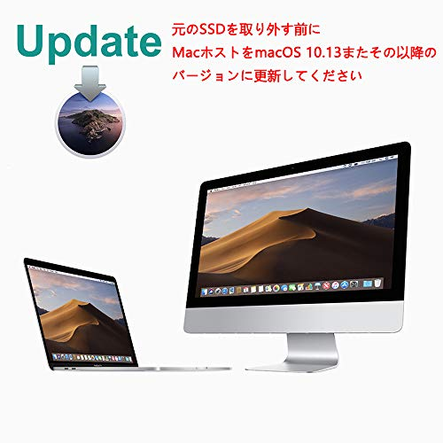 『INDMEM 256GB NVMe PCIe内蔵SSD Mac専用SSD アップグレードキット 専用ドライバー付き 対応モデル MacBook Pro Retina Late 2013-Mid 2015 MacBook Air Mid 2013-2017 iMac Late 2013-2017 Mac Pro Late 2013 Mac Mini Late 2014』の2枚目の画像