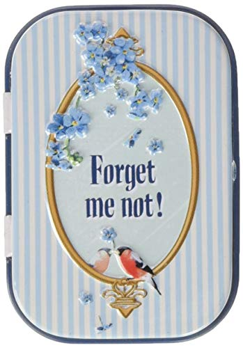 Nostalgic-Art 81230 Home & Country - Forget Me Not, Pillendose
