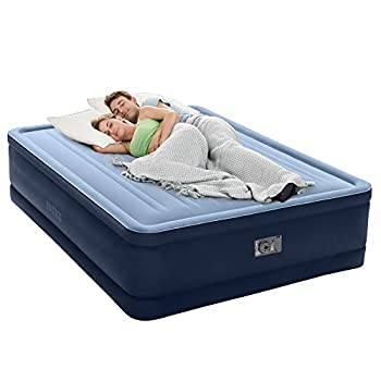 Intex Premaire Series Robust Comfort Airbed with Built-In Electric Pump Bed Height 20  Queen - Amazon Exclusive