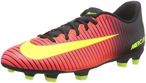 Nike Mercurial Vortex III Fg, Scarpe da Calcio Uomo, Multicolore (Total Rouge Crimson/Vert Volt/Black/Pink Blast), EU