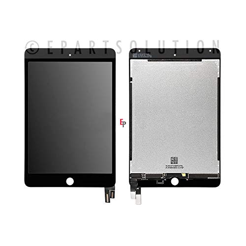ePartSolution_Replacement Part for iPad Mini 4 A1538 A1550 LCD Display Touch Screen Digitizer Glass Assembly USA (Black)