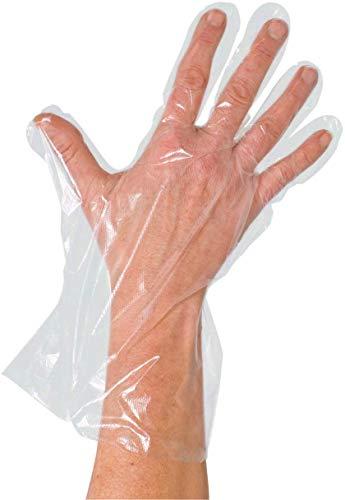 PE-Handschuhe Transparent (100-er Pack) Dieselhandschuhe, Einmalhandschuhe, Einmal-Handschuhe (Damen)