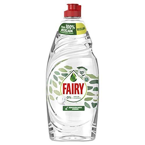 Fairy Limpio Y Fresco Original Lavavajillas líquido, sin perfumes ni colorantes y dermatológicamente aprobado por la Skin Health Alliance - 650 ml