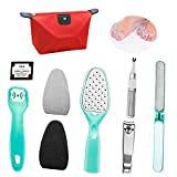 Foot Rasp Feet Callus Remover, Foot Rasp Foot Peel&Callus Clean Feet Dead Skin Tool Set, Pedicure Kit Set