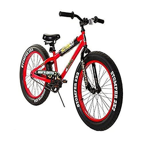"""Krusher 20"""" Kids' Fat Tire Mountain Bike - Red"""