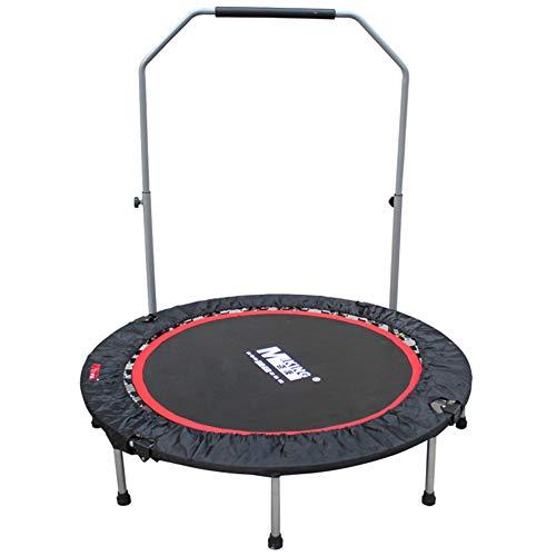 Yangangjin Indoortrampoline voor kinderen, fitness, trampoline, opvouwbare fitnesstrampoline, indoor rebounder, jumper, aerobic, fitness, familietraining