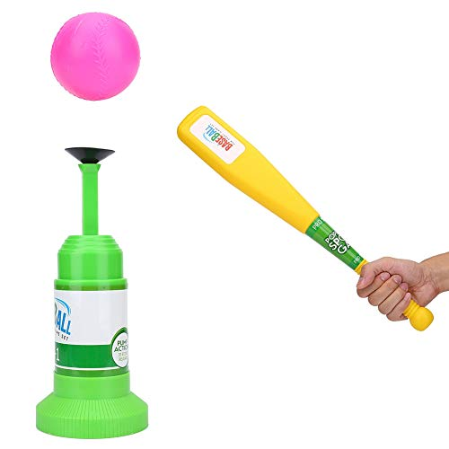 Ruiqas Halbautomatisches Launcher Baseball Set Baseballs Trainingsspielzeug