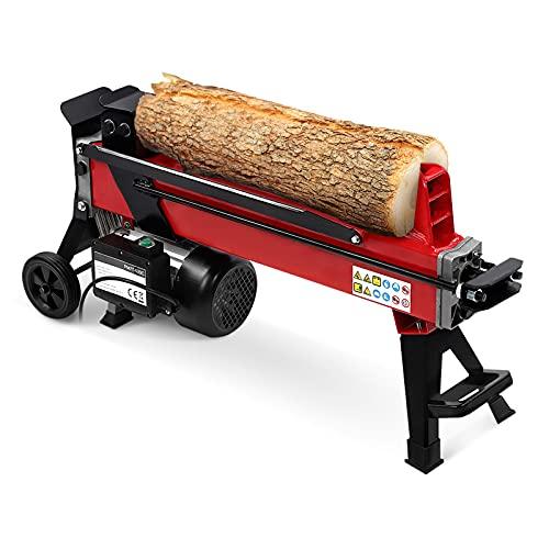 Electric Log Splitter Hydraulic Wood Cutter, 7 Ton Hydraulic Wood Splitters...