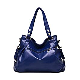JOSEKO JOSEKOukpursemall1420, Sac pour Femme à Porter à l'épaule, Bleu (Bleu) – JOSEKOukpursemall1422