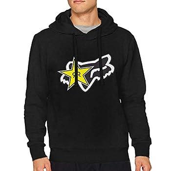 JamesWisniewski Rockstar Energy Drink Men s Hoodie Fleece Sweatshirt Pullover Long Sleeve Small Big Tall Winter Fall L Black