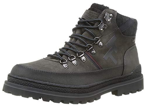 Tom Tailor Mens 9080301 Backpacking Boot Bootie Boot, Grau, 43 EU
