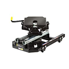 20K Trailer Weight A Capture Plate Is Required To Activate The Sliding Cam 14 Inches Of Fully Automatic Slide Hitch Stands 18.5 Inches To Top Of Hitch Plate Locking Jaw Closes Automatically Around King Pin