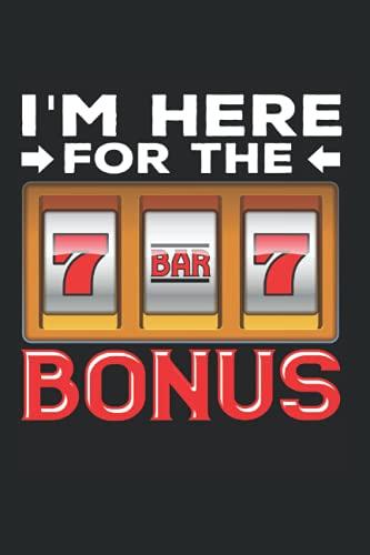 Notizbuch: Spielautomat Glücksspiel Lustiger Casino Fan Notizbuch DIN A5 120 Seiten für Notizen Zeichnungen Formeln | Organizer Schreibheft Planer Tagebuch