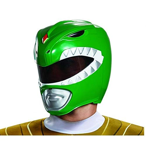 Disguise Adult Green Ranger Helmet Standard