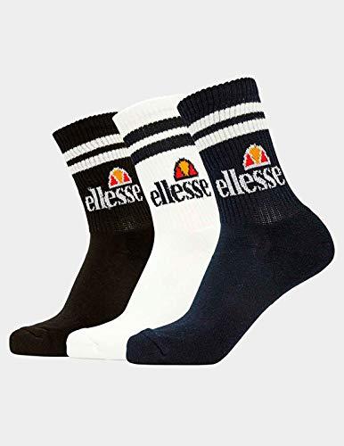 Ellesse Herren 3er-Pack Socken, 86015RDH295590, Mehrfarbig, 86015RDH295590 One size